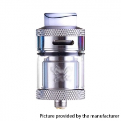Dead Rabbit Style 24mm RTA Rebuildable Tank Atomizer 4ml - Silver