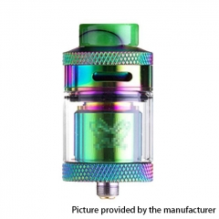 Dead Rabbit Style 24mm RTA Rebuildable Tank Atomizer 4ml - Rainbow