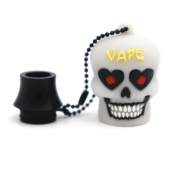 Clrane 810 Drip Tip + Anti-Dust Cap Combo - Black
