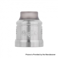 Authentic Wotofo 22mm Conversion Cap for Profile RDA - Silver