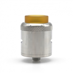 Mojia Car Style 25mm RDA Rebuildable Dripping Atomizer w/BF Pin -  Silver