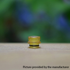 Dee Replacement 510 Drip Tip PEI 1pc - Yellow