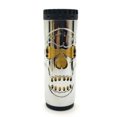 Comply Saw Magnum Style 18650/20650/20700 Mechanical Mod 30.5mm - Silver Black