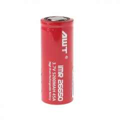 Authentic Aweite AWT IMR 26650 3.7V 5200mAh Rechargeable Li-ion Battery 1pc