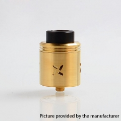 Authentic Shield Cig Mark XLIV 30mm RDA Rebuildable Dripping Atomizer - Gold