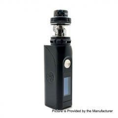 Authentic Asmodus Colossal 80W 25mm TC VW Box Mod + Wotofo Flow Pro Sub Ohm Tank Kit 5ml - Black