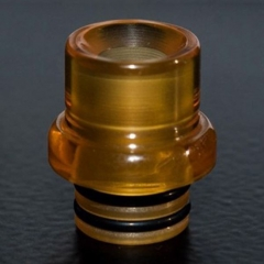 (Ships from Germany)SteamT T9 Style 510 Drip Tip for RDA / RTA / Sub Ohm Tank 10mm - Brown