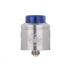 (Ships from Germany)Authentic Wotofo Profile 24mm RDA Rebuildable Dripping Atomizer w/ BF Pin - Silver