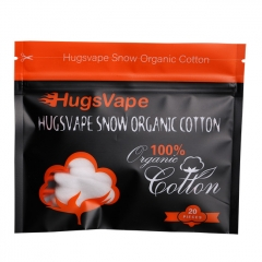 Authentic Hugsvape Snow Organic Cotton 20 Stripes