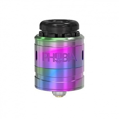 Pre-Sale Authentic Vandy Vape Phobia V2 24mm RDA Rebuildable Dripping Atimizer w/ BF Pin - Rainbow