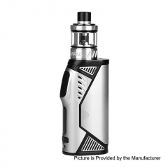 Pre-Sale Authentic Uwell Hypercar 80W TC VW Variable Wattage Box Mod + Whirl Sub Ohm Tank Kit 3.5ml - Silver