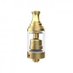 Salt Style 18mm RTA Rebuildable Tank Atomzier 3.5ml - Gold