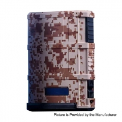 Authentic Cool Vapor Madpul 200W VW Variable Wattage Box Mod - Camouflage