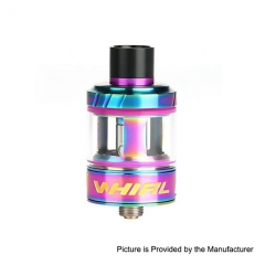 Authentic Uwell Whirl 24.2mm Sub Ohm Tank Clearomizer 3.5ml/0.6ohm - Rainbow