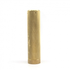 Pur Truck Style 18650/20700 Hybrid Mechanical Mod 26mm (Knurled Version) - Gold