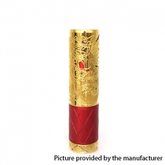 Pur King Style 18650/20700 Mechanical Mod 26mm - Gold Red