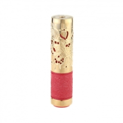 Lysten Pur Pand Style 26mm 18650/20700 Hybrid Mechanical Mod - Brass Red