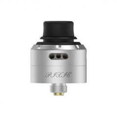 Authentic Vapefly Pixie 22mm RDA Rebuildable Dripping Atomizer w/ BF Pin - Silver