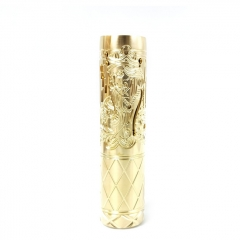 Pur Queen Style 18650/20700 Mechanical Mod 26mm - Full Brass