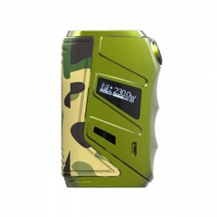 Authentic Nikola Wolverine 230W TC VW Variable Wattage Box Mod - Army Green