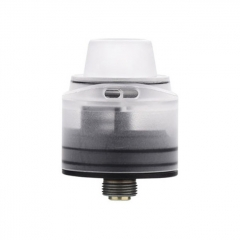 Authentic 5GVape Freedom 22mm 316SS RDA Rebuildable Dripping Atomizer w/ BF Pin - White