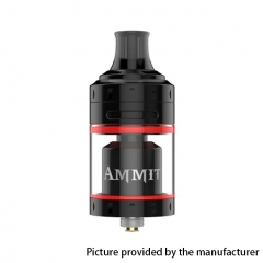 Authentic Geekvape Ammit 24mm MTL RTA Rebuildable Tank Atomizer 4ml - Black