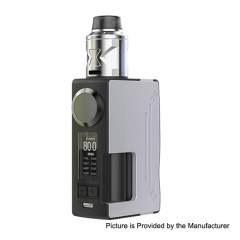 Authentic Hugsvape Surge 80W 18650/20700 TC VW Squonk Mod + Piper BF RDA Kit 24mm - Silver