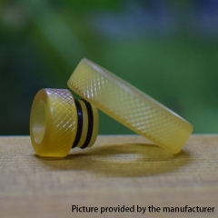 Never normal ring w/ 510 drip tip for 22mm Atomizer - Yellow