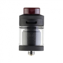 Authentic Hellvape Dead Rabbit 25mm RTA Rebuildable Tank Atomizer 2ml / 4.5ml - Full Black