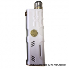 Vertex Style Mechanical Box Mod + RDA Kit - White