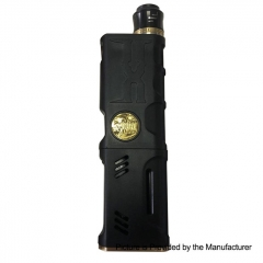 Vertex Style Mechanical Box Mod + RDA Kit - Black