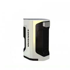 Authentic Wismec Luxotic DF 200W 18650 Squonk Box Temperature Control Mod w/7ml Bottle - White