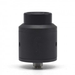 Goon Style 25mm RDA Rebuildable Dripping Atomizer w/ BF Pin - Black