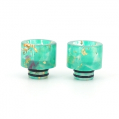 Replacement 510 Resin Drip Tip 2pcs - Green