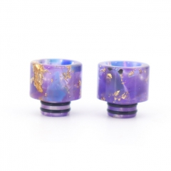 Replacement 510 Resin Drip Tip 2pcs - Purple