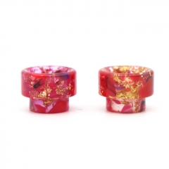 Replacement 810 Resin Drip Tip 2pcs - Red