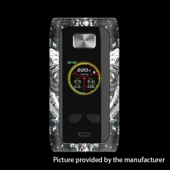 Authentic ThinkVape Thor Pro 200W TC Temperature Control VW Box Mod - Metal Castle