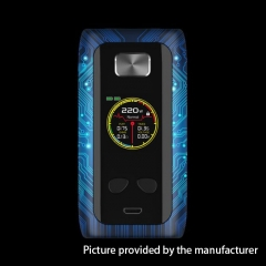 Authentic ThinkVape Thor Pro 200W TC Temperature Control VW Box Mod - Grid