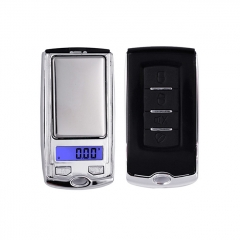 ATP-136 100g/0.01g Key Style Portable LCD Electronic Scale Pocket Scale - Silver