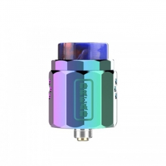 Authentic Damn Vape Dread 24mm RDA Rebuildable Dripping Atomizer w/BF Pin - Rainbow
