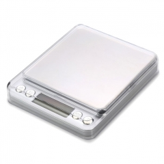 M-8008 2000g/0.1g LCD Precision Electronic Scale - White