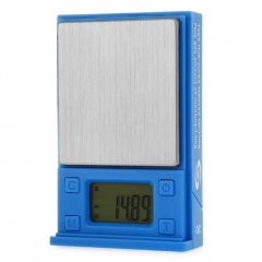 MH-331 100g/0.01g LCD Precision Electronic Scale - Blue