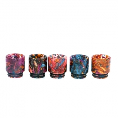 810 Replacement TFV8 Resin Stablized Wood Drip Tip for Atomizers 1pc - Random Color