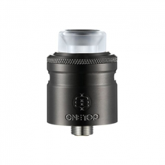 Authentic One Top Onetopvape Gemini 26.5mm RDTA Rebuildable Dripping Tank Atomizer - Black