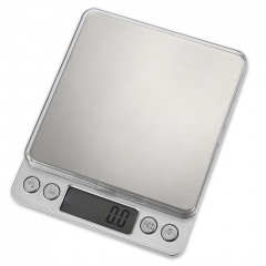 M-8008 1000g LCD Precision Electronic Scale - White