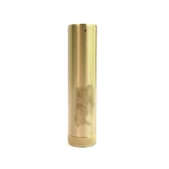Pur The Truck Mod Style 18650/20700 26mm Hyrbird Mechanical Mod - Brass