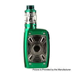 Authentic Teslacigs XT Mini 220W TC VW Variable Wattage Box Mod + Tallica Mini Tank 4ml/25mm Kit - Green
