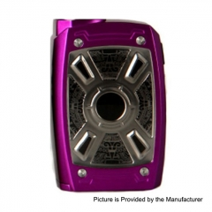 Authentic Teslacigs XT Mini 220W TC VW Variable Wattage Box Mod - Purple