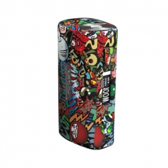 Authentic S-Body Sbody Orca Mini 100W 1x18650/26650 TC VW Variable Wattage Box Mod - Bacca