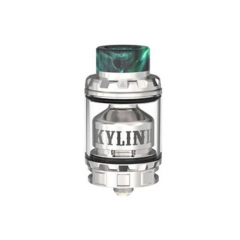 Pre-Sale Authentic Vandy Vape Kylin V2 24mm RTA Rebuildable Tank Atomizer 3/5ml - Silver